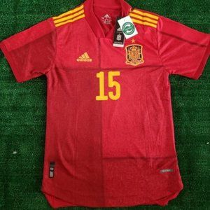Spain Ramos Home Euro 2020 Jersey